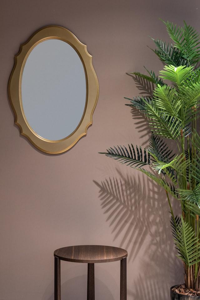 décorer miroir avec macramé